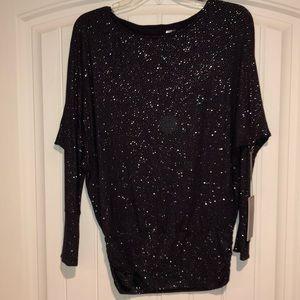 Glitter piko shirt